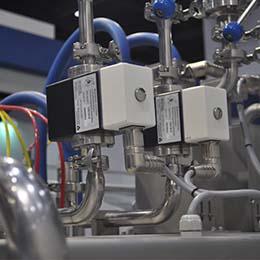 Flow meter filling system :